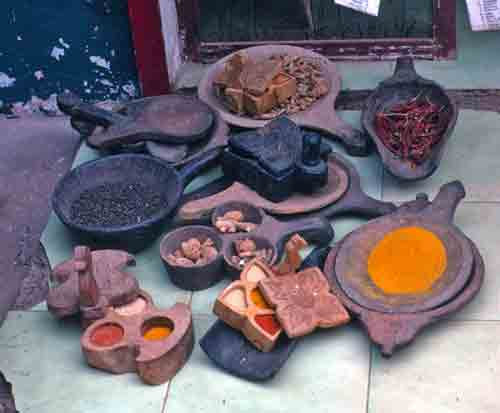 Spices in Kerala, India