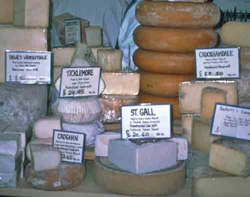 Cheese at Neal's Yard