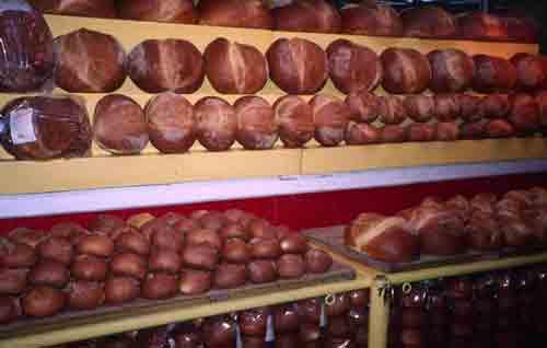 Bread in Oaxaca, Mexico