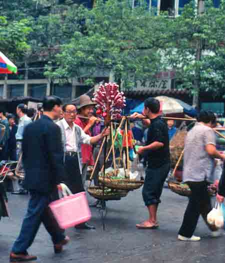 Vendor in Chinese market