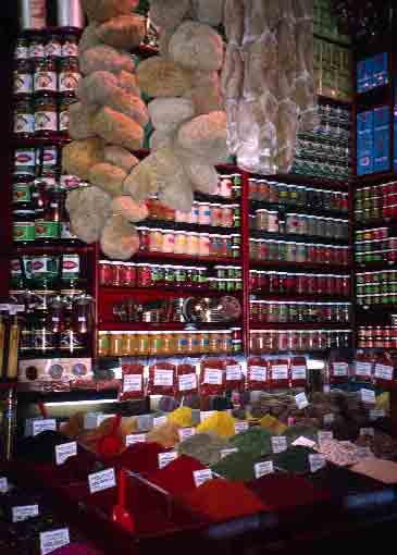 Shop in Istanbul\'s Spice Bazaar