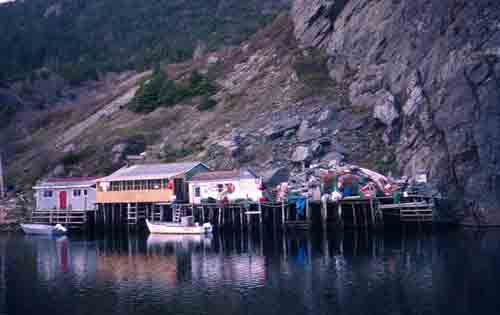 Newfoundland Fishing Stages