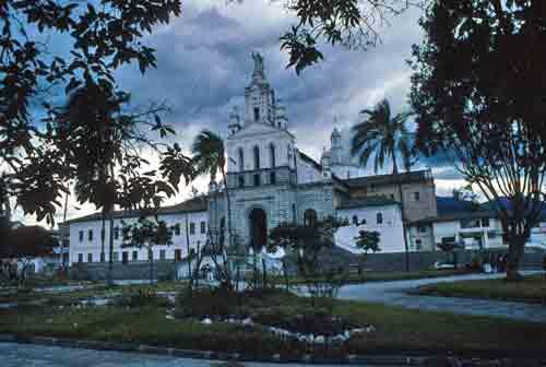 Iglesia, Cotacachi, Ecuador