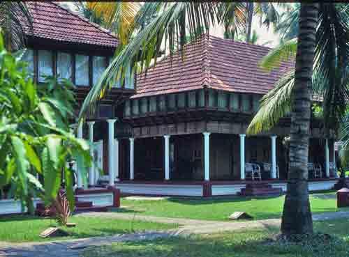 Classic teak houses of Kerala
