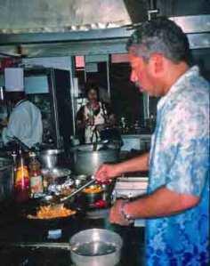 Chef Madre Deus's Kitchen