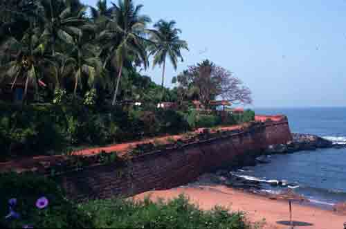 Remains of Fort Aguada