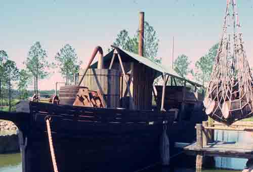 Replica of Illegal Floating Rum Still
