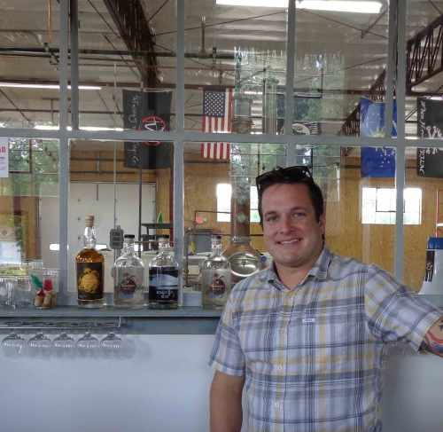 Tailwinds Distillery's Toby Beall