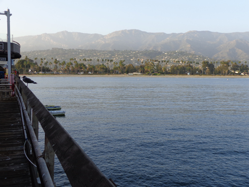 Santa Barbara from Sterns Wharf